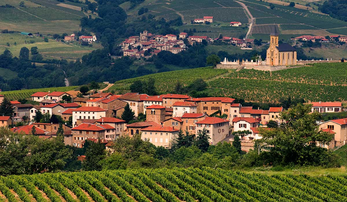 Beaujolais Region - european travel destination