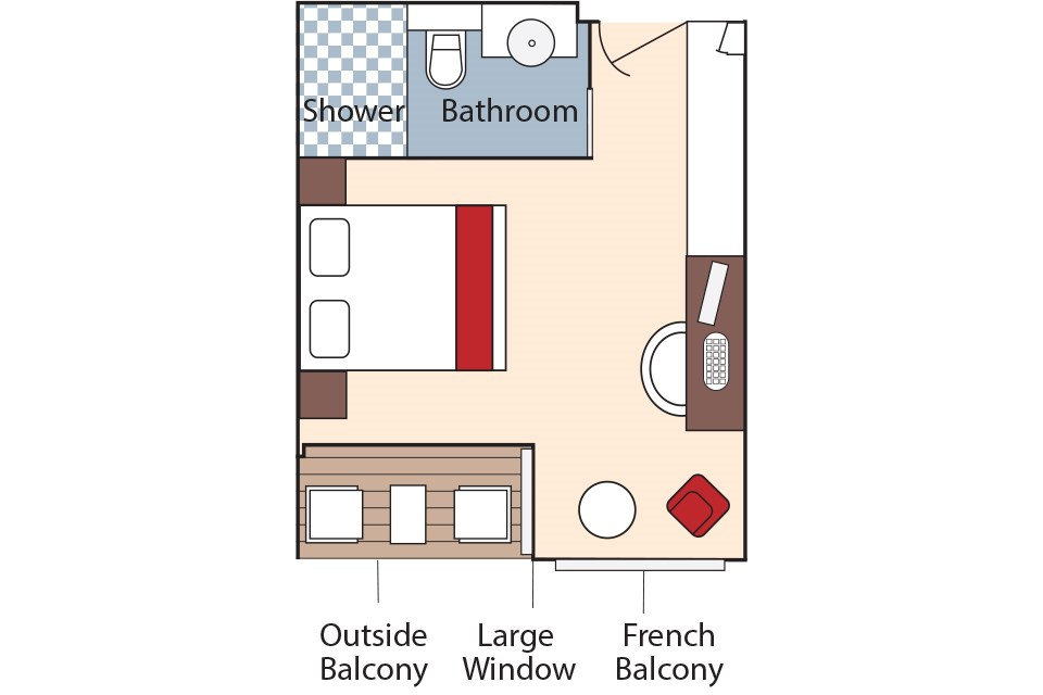Category BB & BA Floor Plan