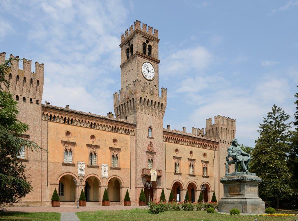 Rocca Pallavicino Castle In Busseto European Travel