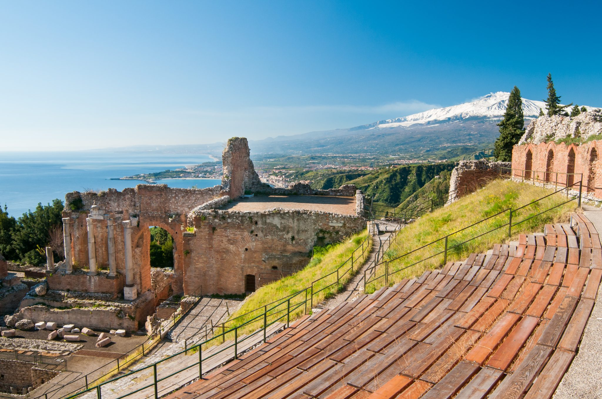 Greek/Roman Theater in Taormina